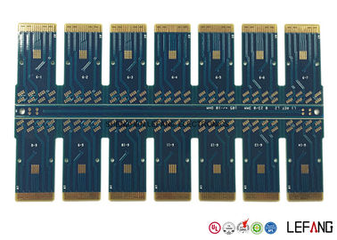 Fr4 Blue Solder Optical PCB Circuit Board For Communication Module 1.6 MM
