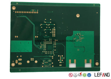 10 Layers Industrial PCB Printed Circuit Board with Immersion Gold Surface